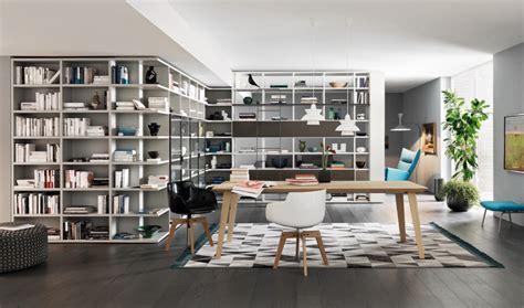 librerie da salotto soggiorno moderno e libreria su misura non mobili