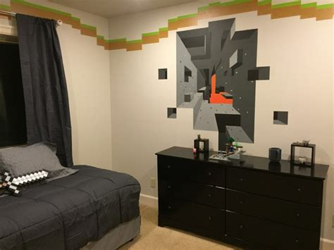 bedroom wall border ideas 20 minecraft bedroom designs decorating ideas design