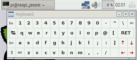 keyboard layout raspbian matchbox keyboard and pcmanfs not working together