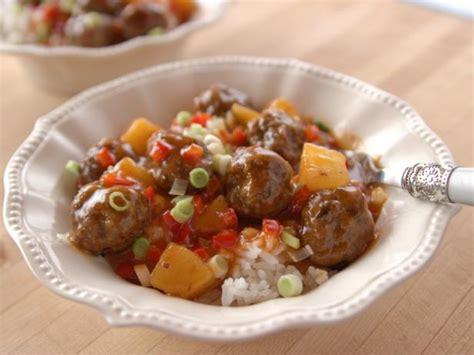 pioneer woman comfort meatballs recipe sweet and sour meatballs recipe ree drummond food network
