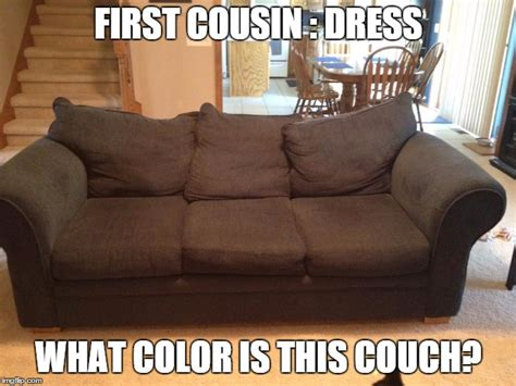 couch cousin navy blue couch imgflip