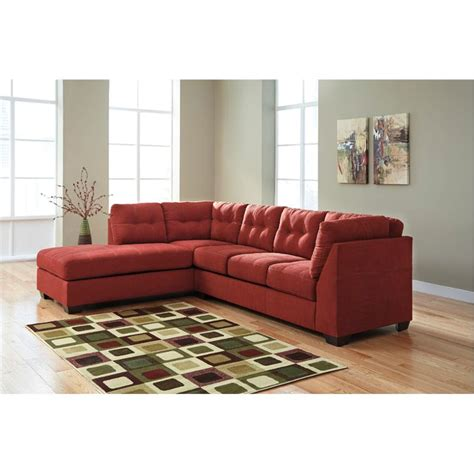 ashley red leather sectional ashley furniture red leather sectional fabric sofas