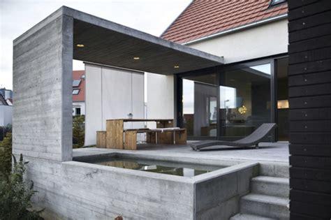 terrasse neubau neubau eines wohnhauses modern terrasse sonstige