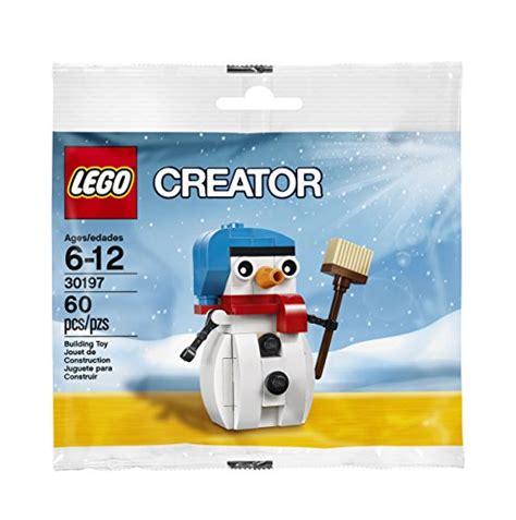 Lego 30197 Snowman Winter Polybag Creator lego 30197 creator snowman polybag at