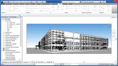 revit tutorial advanced advanced revit architecture 2014 tutorial view templates