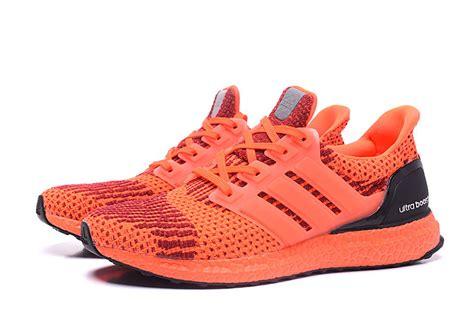 adidas ultra boost  unisex orange black adidas