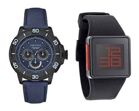 analog and digital watches differences between analog