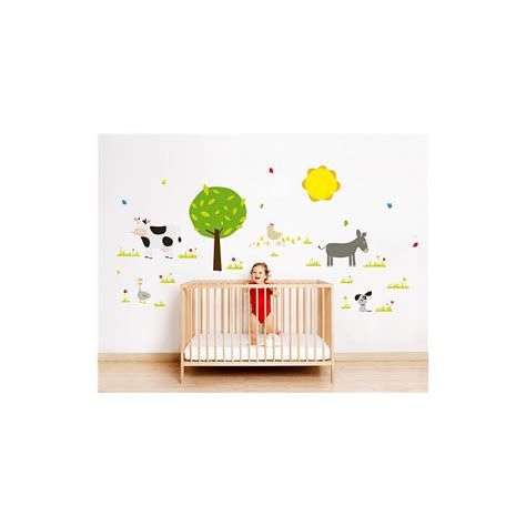 nursery wall stickers farm or forest nursery wall stickers by nubie modern boutique notonthehighstreet
