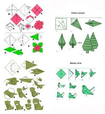 cara buat origami burung yang mudah kerajinan tangan anak cara membuat origami keren dan