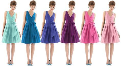 multi colored bridesmaid dresses rainbow colored bridesmaid dresses