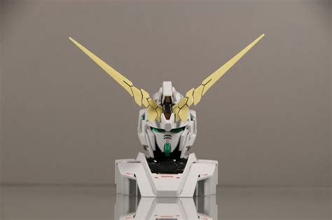 Rx 0 Unicorn Gundam Display Base gunpla by goodguydan 1 48 gundam unicorn