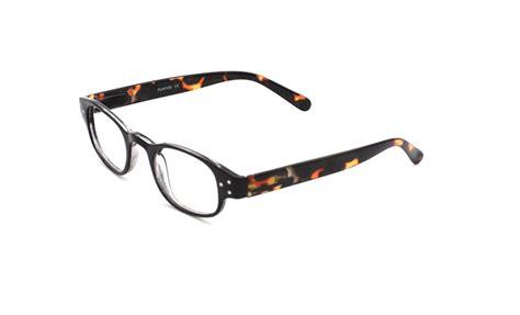 lyon black oval frame reading glasses eyelids reading