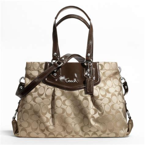 handbag couch coach handbag ashley signature carryall bag c804