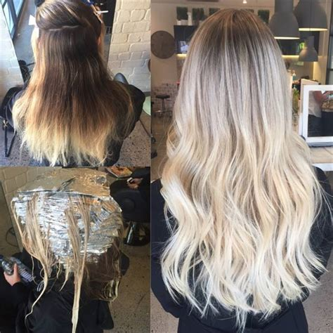 foil hair colour suggestions micro foiling to create a perfect blonde career modern