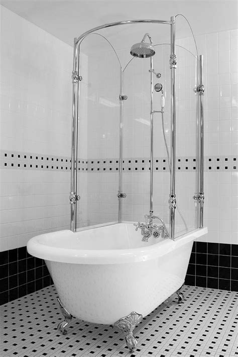Bathrooms With Clawfoot Tubs Ideas by Best 25 Clawfoot Tub Shower Ideas On Clawfoot