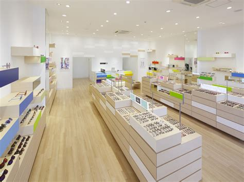 zoff eyewear shop by emmanuelle moureaux iruma japan