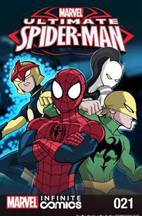 ultimate spider man infinite comic vol 1 21 marvel