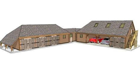 l shaped garage plans smalltowndjs