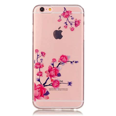 Casing Bunga Iphone 6 6s Softcase Flowers Slim Clear Iphone6 ultra slim transparent flower pattern back cover skin for iphone 6 6s plus ebay