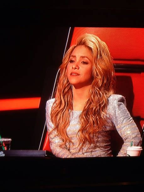 Sakira Blouse blouse glitter shakira the voice usa wheretoget