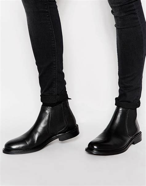 Boot Island 1 river island river island leather chelsea boot at asos