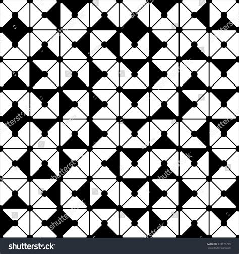 geometric pattern random vector modern seamless geometry pattern random stock