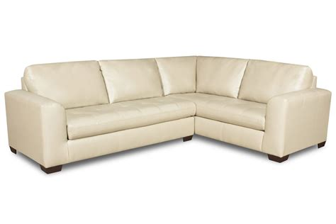 Cagney Leather Sectional At Gardner White Cagney Leather Sofa