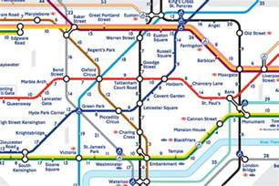 What Zone Is Covent Garden - london s walk the tube map reveals the real distance between stations the verge