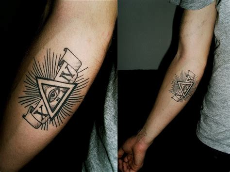 arm small tattoo illuminati tattoos designs ideas and meaning tattoos