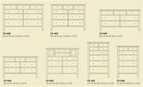 standard dresser dimensions search guidelines