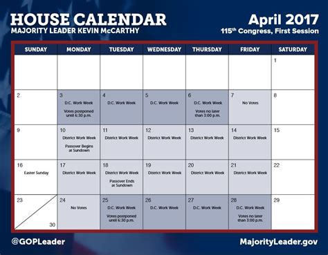 house calendar house press gallery u s house of representatives