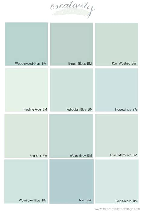 best green colors comparing popular blue gray and green paint colorsbest