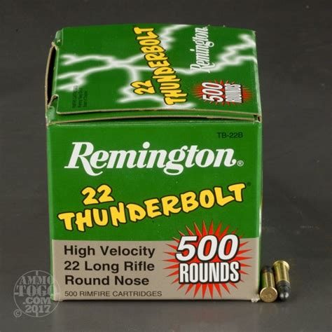 remington thunderbolt 22 ammo bulk 22 long rifle lr ammo by remington for sale 500