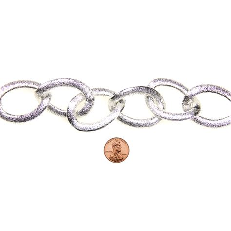 blue moon chain blue moon chain curb link large silver at