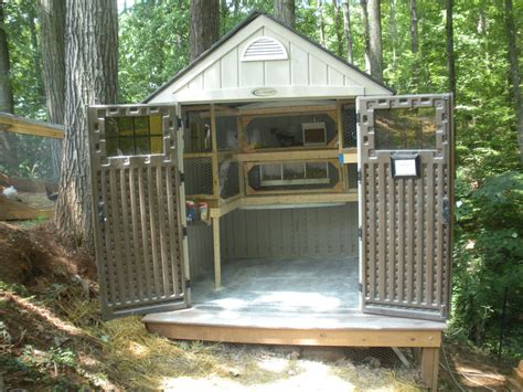 Coop Sheds by Shed Chicken Coop Backyard Chickens