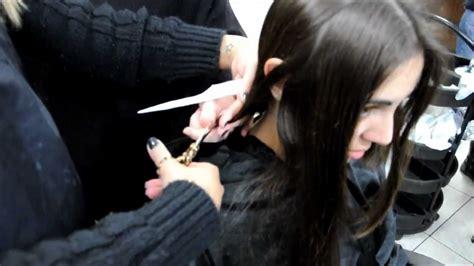 long hair  cut    short bob haircuti  likes   clip   youtube