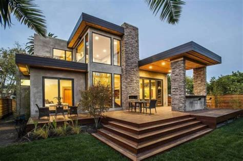 stucco house siding natural stone stucco siding on a modern house picture of the day