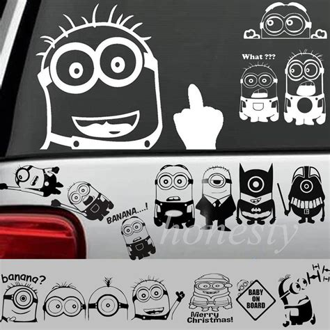 Auto Decals Kopen by Online Kopen Wholesale Minion Car Decal Uit China Minion