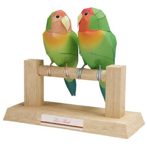 Papercraft Bird - parrot bird papercraft pepakura corner