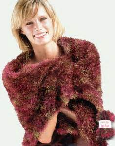 knitting m1k knitted stole lm0110 purple