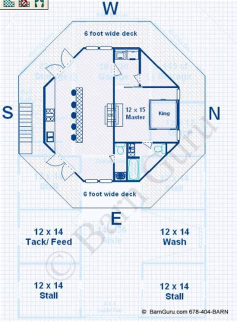 horse barn with living quarters floor plans barn plans 4 stall horse barn living quarters design