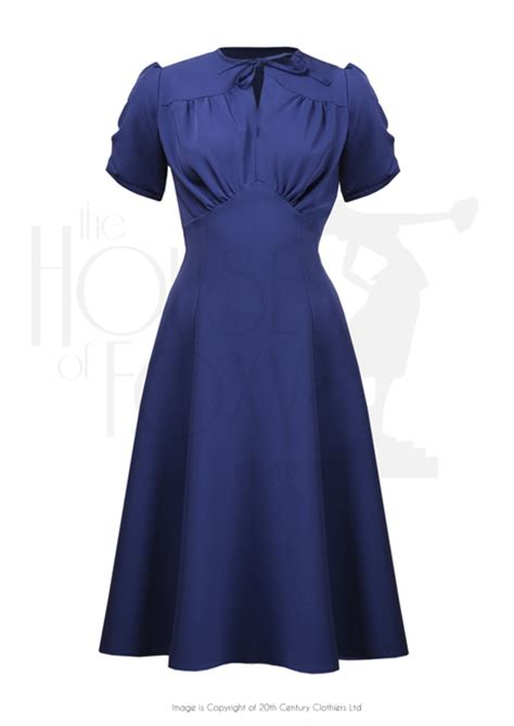 dance dresses of the 1940s ehow uk 1940s grable tea swing dance dress in french navy