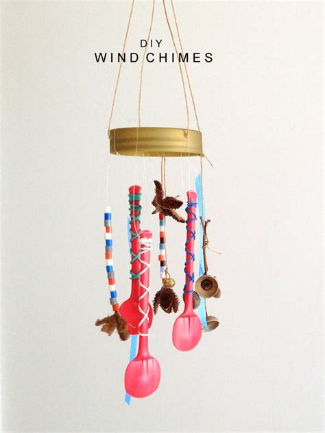 wind chimes diy diy upcycled wind chime ideas recycled things
