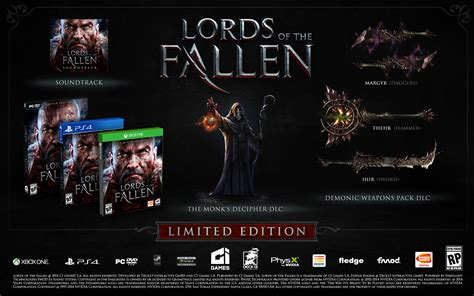 Odm Fallen Limited Edition 1 of the fallen sins trailer limited edition announced pushstartplay