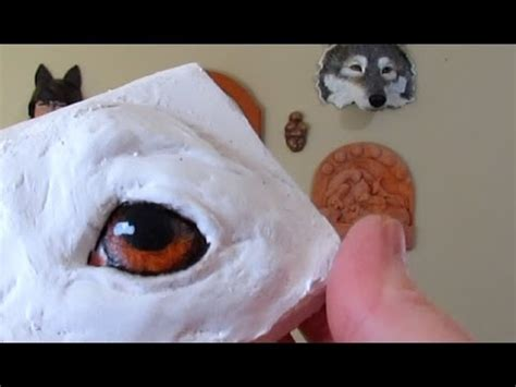 Make Animal Sculptures With Paper Mache Clay - painting on paper mache sculpture