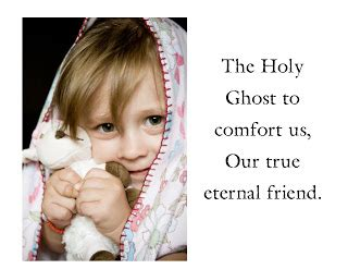 the holy spirit comforts us primary singing ideas the holy ghost flipchart