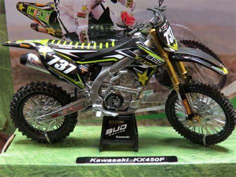 Newray 112 Kawasaki K 450f Hijau Putih teillet ferrandis lancelot kawasaki rockstar kx450f 1 12