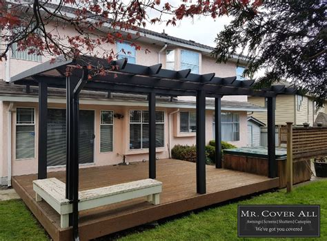 retractable awnings patio deck covers  cover