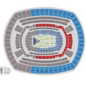 Metlife Stadium Floor Plan by Similiar Metlife Concert Seating Chart Keywords