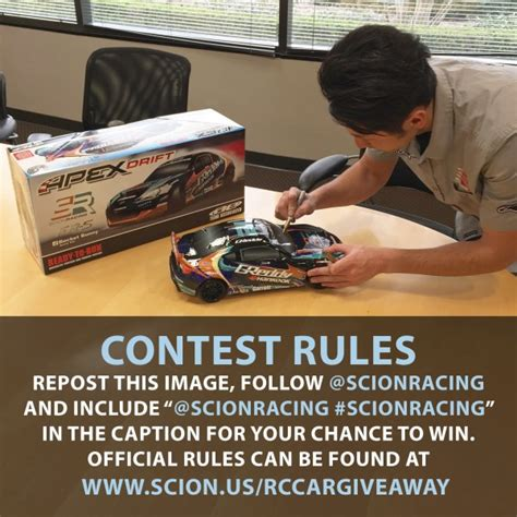 Rc Giveaway Contest - scion giveaway autos post